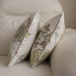 Harlequin Samara Piped Cushions with Zipper