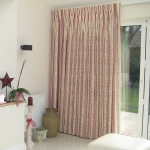Example of our work - Single curtain at bi-fold doors