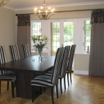 Example of our work - Curtains with integrated valance