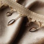 Quadrifolio Trimmings and Velvet Royalle Fabrics
