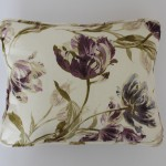 Laura Ashley Gosford Plum Piped Cushion