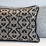 Ethnic Chic and Gri-gri cushions by Fifi de Lyon.JPG