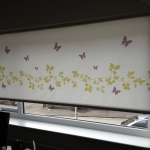 Vine  and Butterfly Roller blind